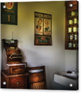 Barber - The Cash Register  Acrylic Print