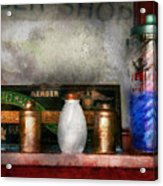 Barber - Things You Stare At  Acrylic Print