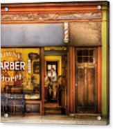 Barber - Towne Barber Shop Acrylic Print