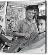 Barbers 2 Acrylic Print