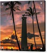 Barber's Point Lighthouse Acrylic Print