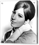 Barbra Streisand, Portrait From Funny Acrylic Print by Everett