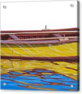 Barca Amarilla Acrylic Print