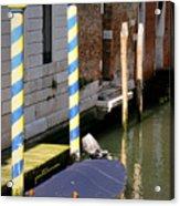 Barca Blue Acrylic Print by Italian Art