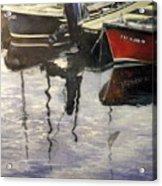 Barcas en puertochico-Santander Acrylic Print