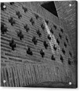 Barcelona Brick Wall Acrylic Print