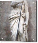 Barcelona - Neptune Statue Acrylic Print