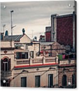 Barcelona Roofscape Acrylic Print