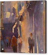 Barcelona Shadows Acrylic Print