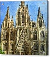 Barcelona Spain Acrylic Print