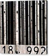 Barcode #19 Acrylic Print