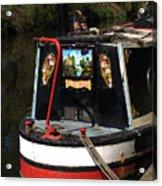 Barge Art Acrylic Print