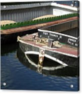 Barge Love Acrylic Print