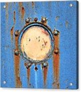Barge Porthole Acrylic Print