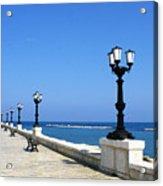 Bari Waterfront Acrylic Print