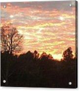 Barium Springs, Nc Sunset Acrylic Print