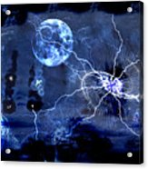 Bark At The Moon Acrylic Print