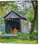 Barkhurst Covered Bridge  Acrylic Print