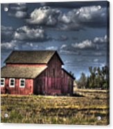 Barn After Storm Acrylic Print