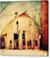 Barn For Sale Acrylic Print