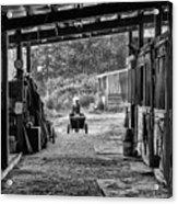 Barn Chores Acrylic Print