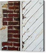 Barn Door Abstract Acrylic Print