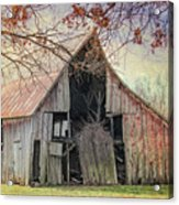Barn Of The Indian Summer Acrylic Print