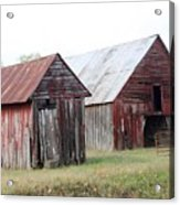 Barn In Kentucky No 100 Acrylic Print