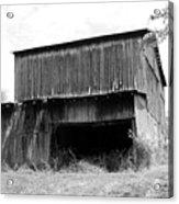 Barn In Kentucky No 79 Acrylic Print