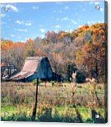 Barn In Liberty Mo Acrylic Print