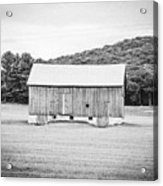 Barn In Meadow Acrylic Print