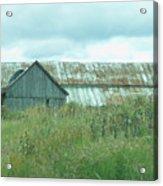 Barn In Softness Of Nature Acrylic Print