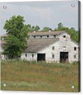 Barn In The Field 948 Acrylic Print