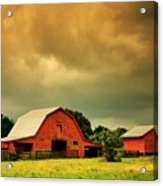 Barn in the USA, South Carolina Acrylic Print