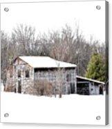 Barn In The Woods Acrylic Print