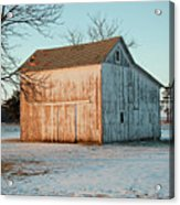 Barn Late Afternoon Acrylic Print