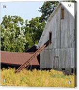 Barn Lot Acrylic Print