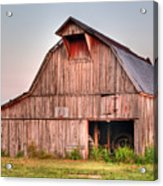 Barn Near Walnut Ridge Arkansas Acrylic Print by Douglas Barnett