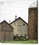 Barn On The Georgia Shore Road Acrylic Print