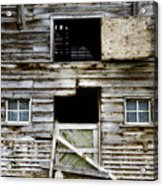 Barn Side Acrylic Print