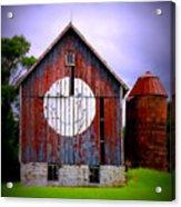 Barn Smile Acrylic Print
