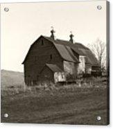 Barn Vermont Horizontal Acrylic Print