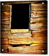 Barn Window Acrylic Print