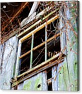 Barn Window Acrylic Print