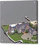 Barnegat Bay House Bay Head New Jersey Acrylic Print
