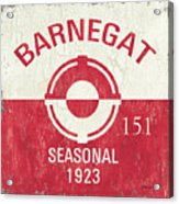 Barnegat Beach Badge Acrylic Print