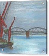 Barnes Bridge Acrylic Print