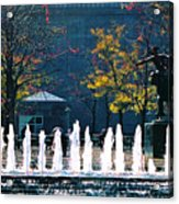 Barney Allis Plaza-kansas City Acrylic Print
