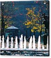 Barney Allis Plaza-kansas City Acrylic Print