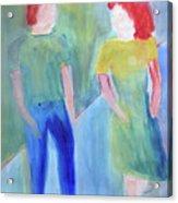 Barney And Elizabeth Acrylic Print